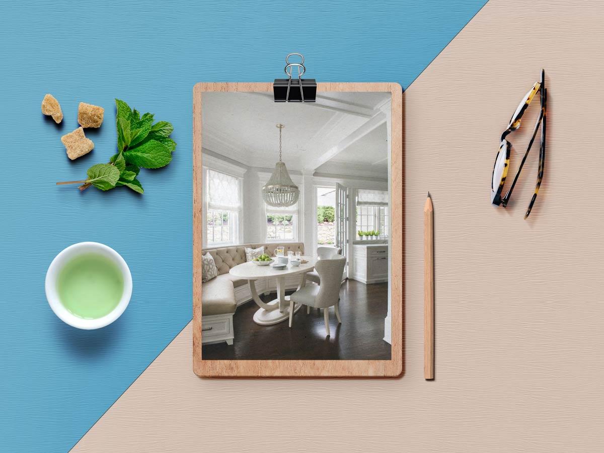 breakfast nook 4 - نکته برای داشتن فضای صبحانه خوری کاملا دنج در خانه شما