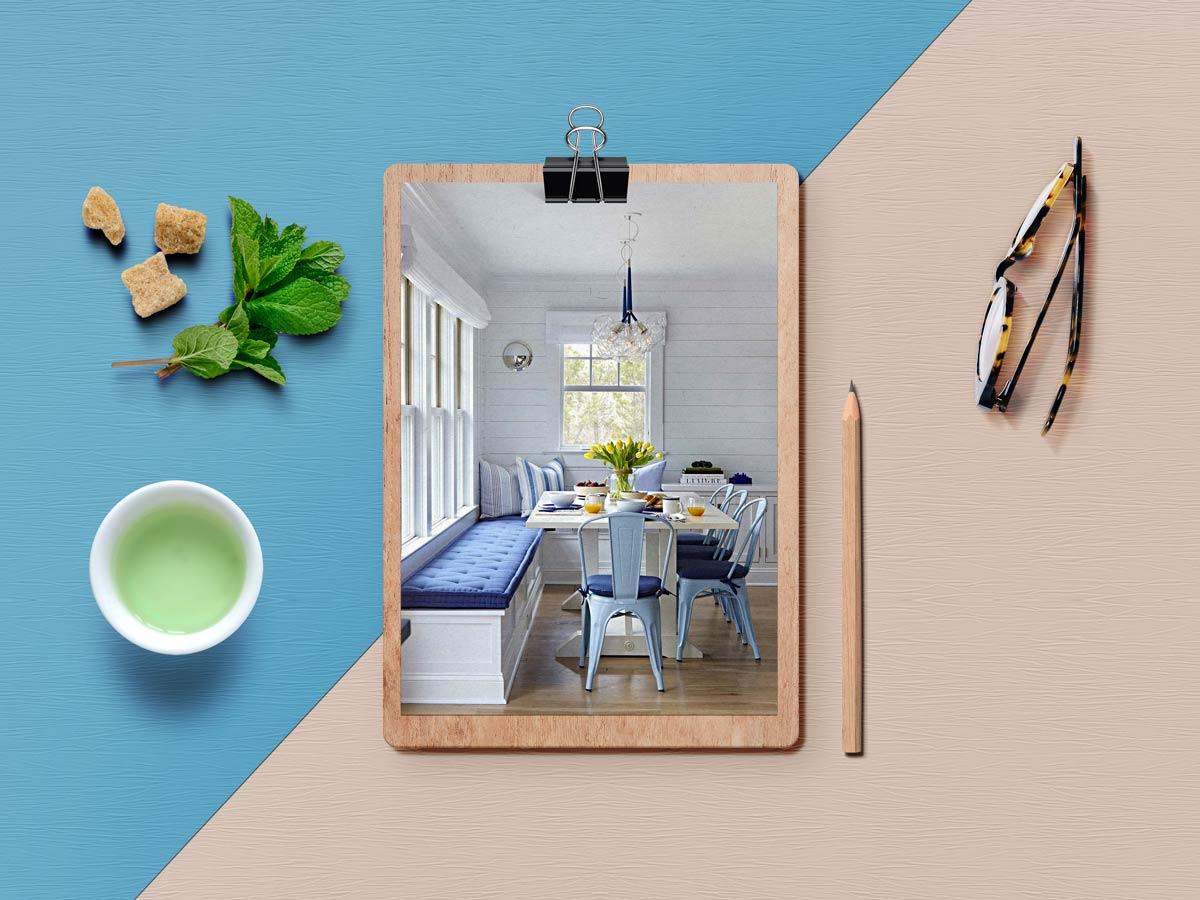 breakfast nook 5 - نکته برای داشتن فضای صبحانه خوری کاملا دنج در خانه شما