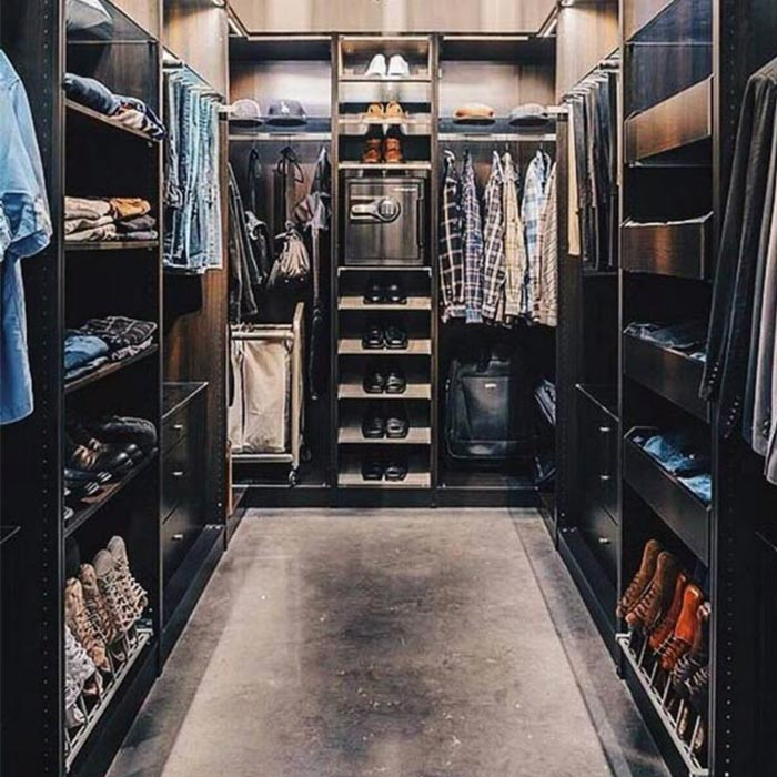 closet 3 - کلوزت یا اتاق مخصوص لباس