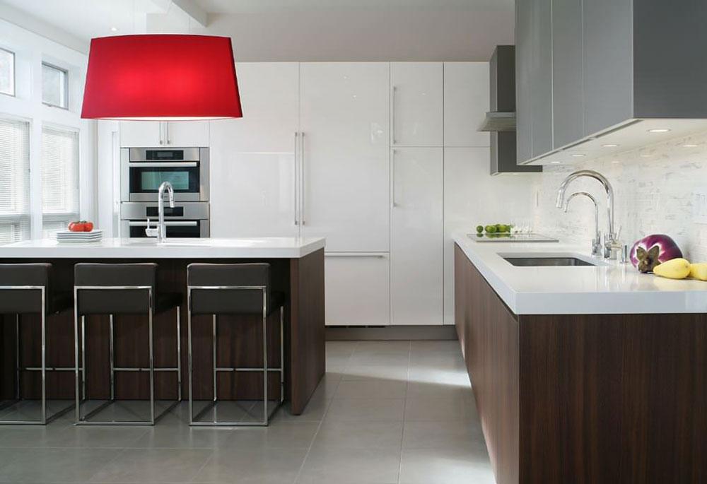 decorasion kabinet sabk13 - سبک های طراحی کابینت فوق العاده برای آشپزخانه های مدرن