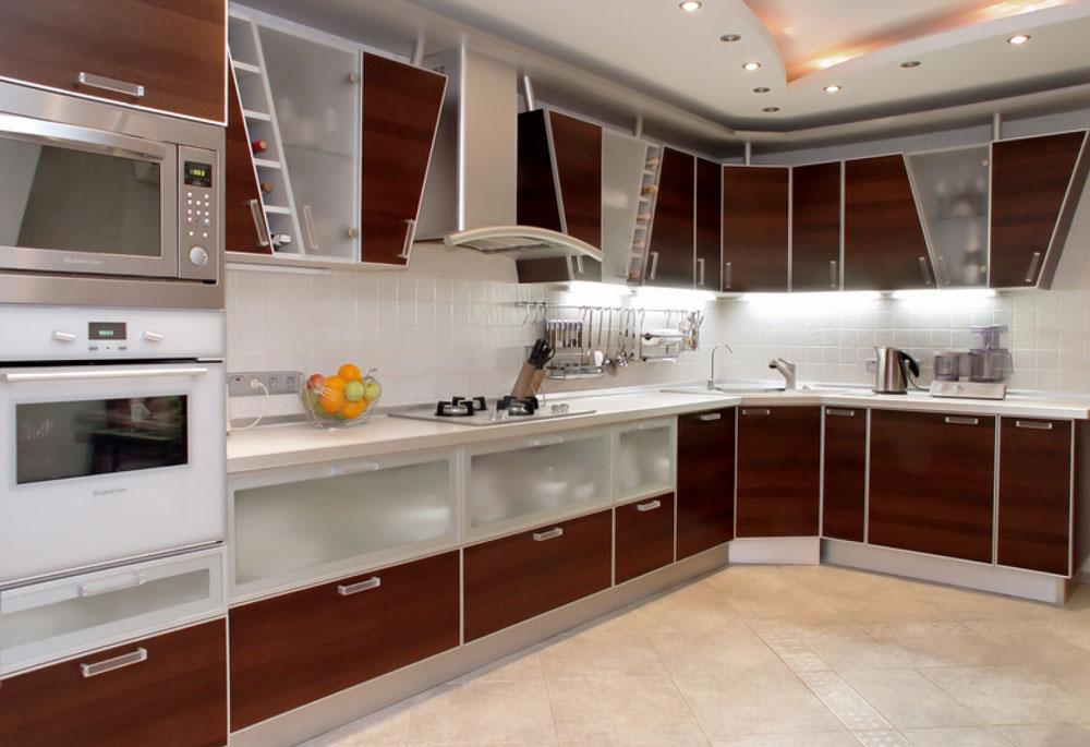 decorasion kabinet sabk3 - سبک های طراحی کابینت فوق العاده برای آشپزخانه های مدرن