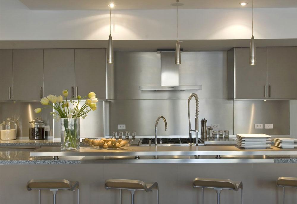 decorasion kabinet sabk5 - سبک های طراحی کابینت فوق العاده برای آشپزخانه های مدرن