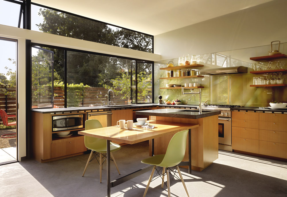 decorasion kabinet sabk7 - سبک های طراحی کابینت فوق العاده برای آشپزخانه های مدرن