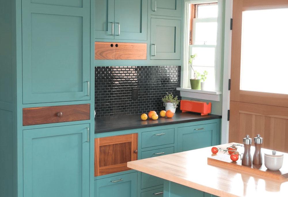 decorasion kabinet sabk8 - سبک های طراحی کابینت فوق العاده برای آشپزخانه های مدرن