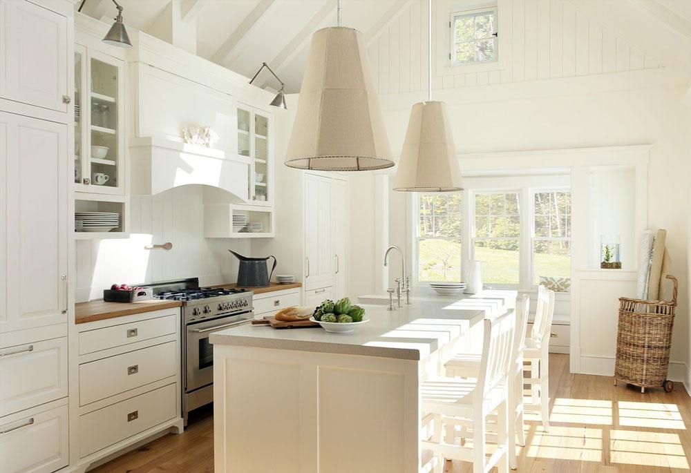 decorasion kabinet sabk9 - سبک های طراحی کابینت فوق العاده برای آشپزخانه های مدرن