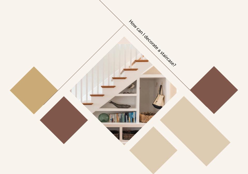 decorate staircase - ایده ها، الهامات و تصاویر طراحی پلکان