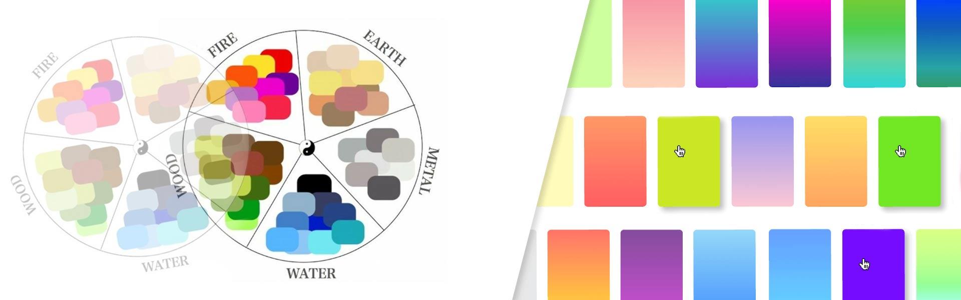 feng shui - فنگ شویی رنگ ها ، رنگ شناسی فنگ شویی