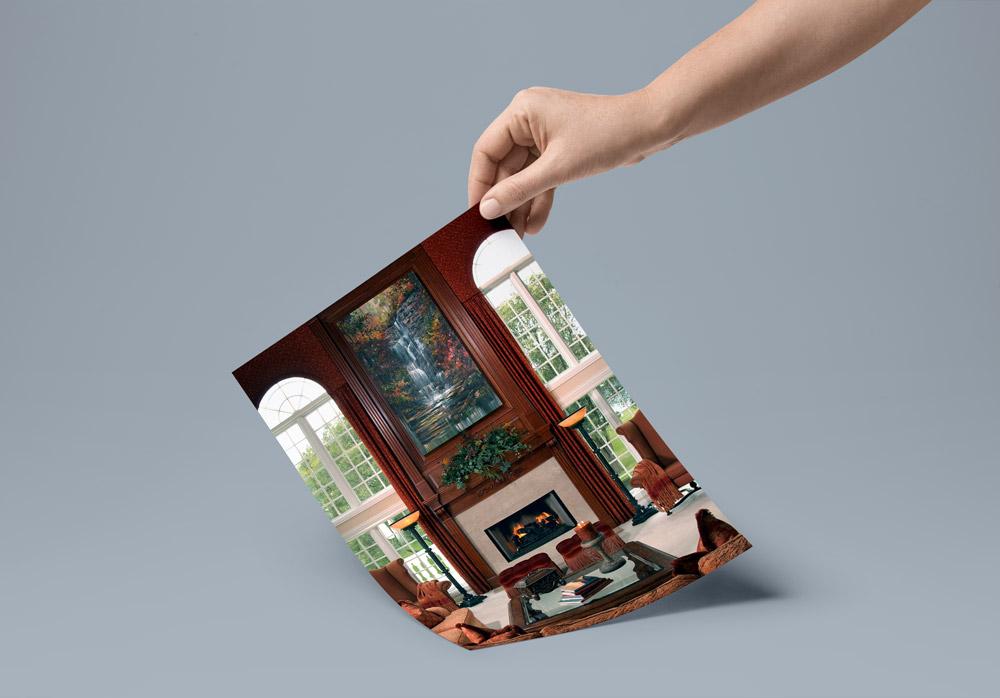 fireplace interior design - ۴ روش برای دکوراسیون اطراف شومینه