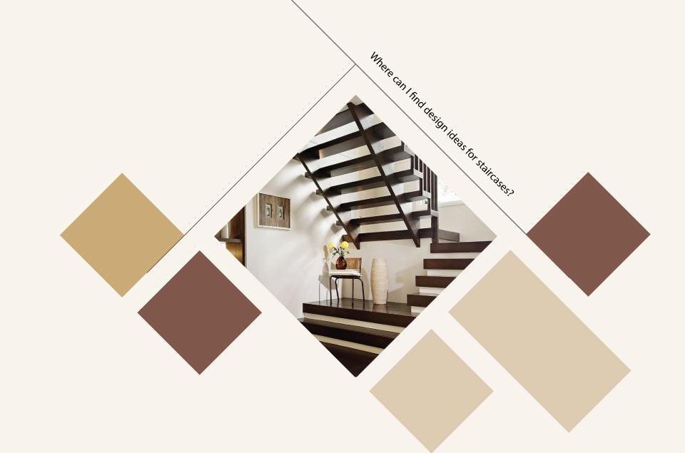 ideas for staircase interior - ایده ها، الهامات و تصاویر طراحی پلکان