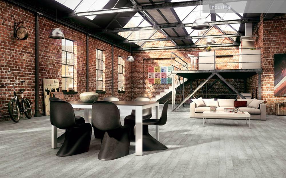 industrial home design - ۲۷ سبک طراحی داخلی در سال ۲۰۱۹