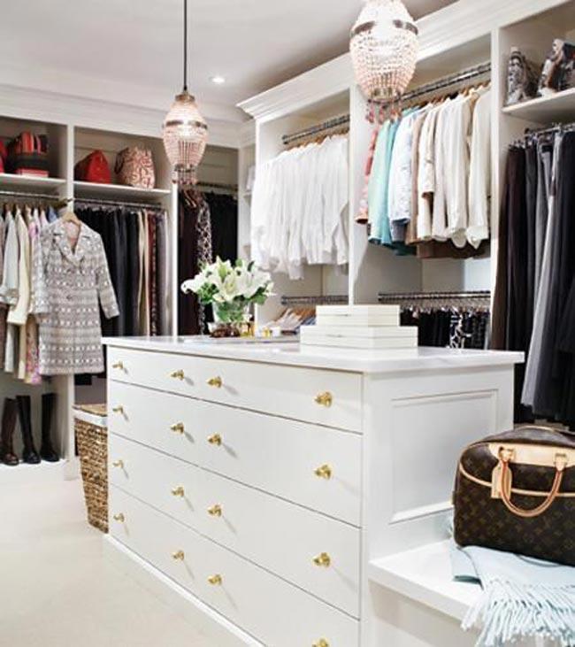 jazire decor - کلوزت یا اتاق مخصوص لباس