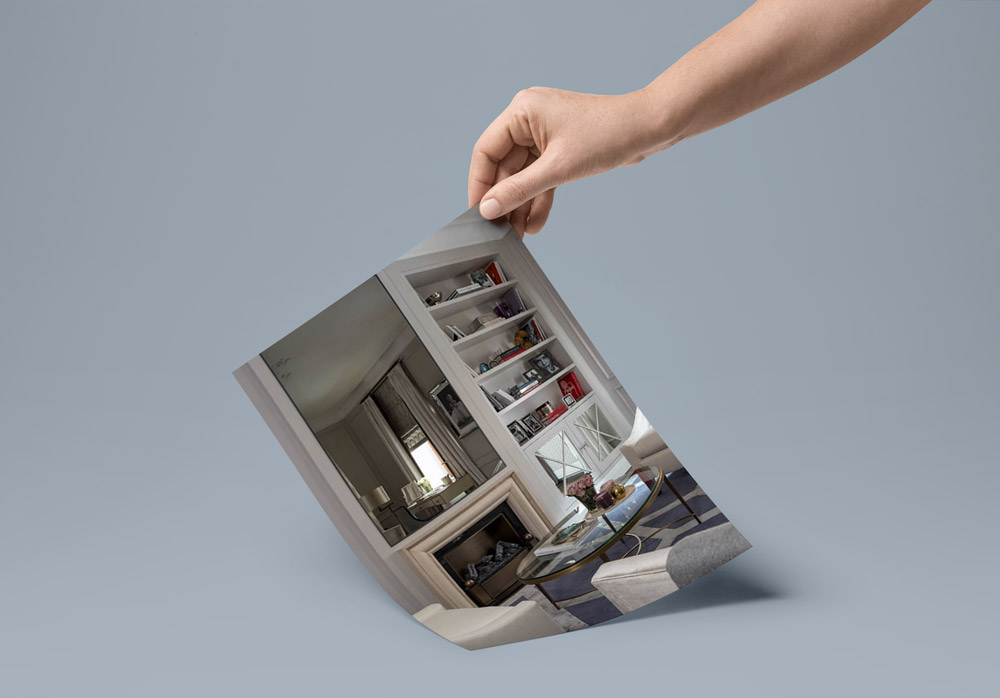mirror over fireplace - ۴ روش برای دکوراسیون اطراف شومینه