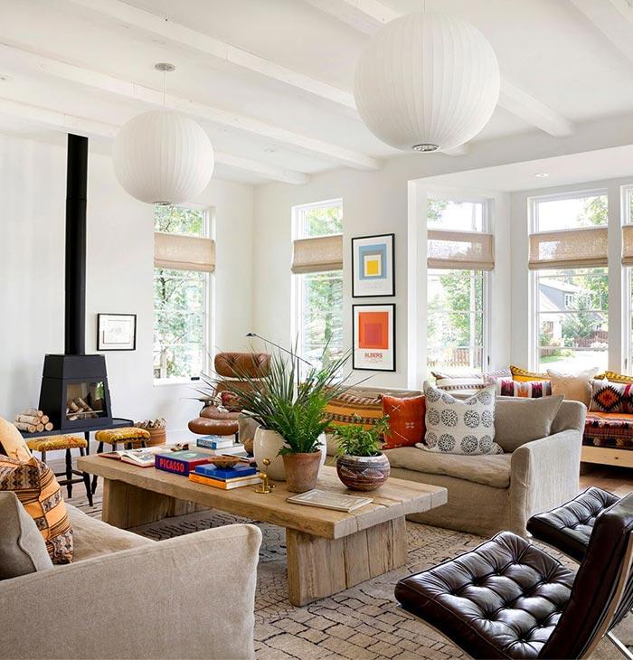 modern interior 5 - ویژگی ها و تفاوت طراحی داخلی مدرن و معاصر
