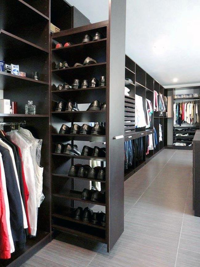 shoe closet - کلوزت یا اتاق مخصوص لباس