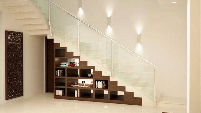 stairs interior design 1 - ایده ها، الهامات و تصاویر طراحی پلکان