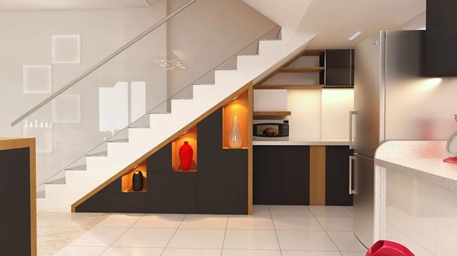 stairs interior design 10 - ایده ها، الهامات و تصاویر طراحی پلکان