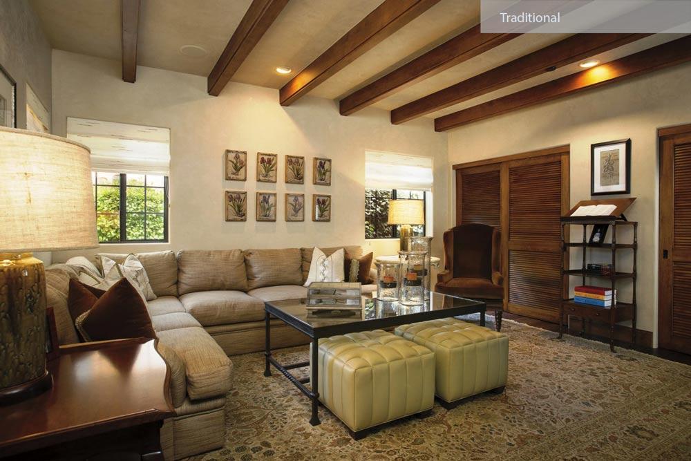 traditional homes interior - ۲۷ سبک طراحی داخلی