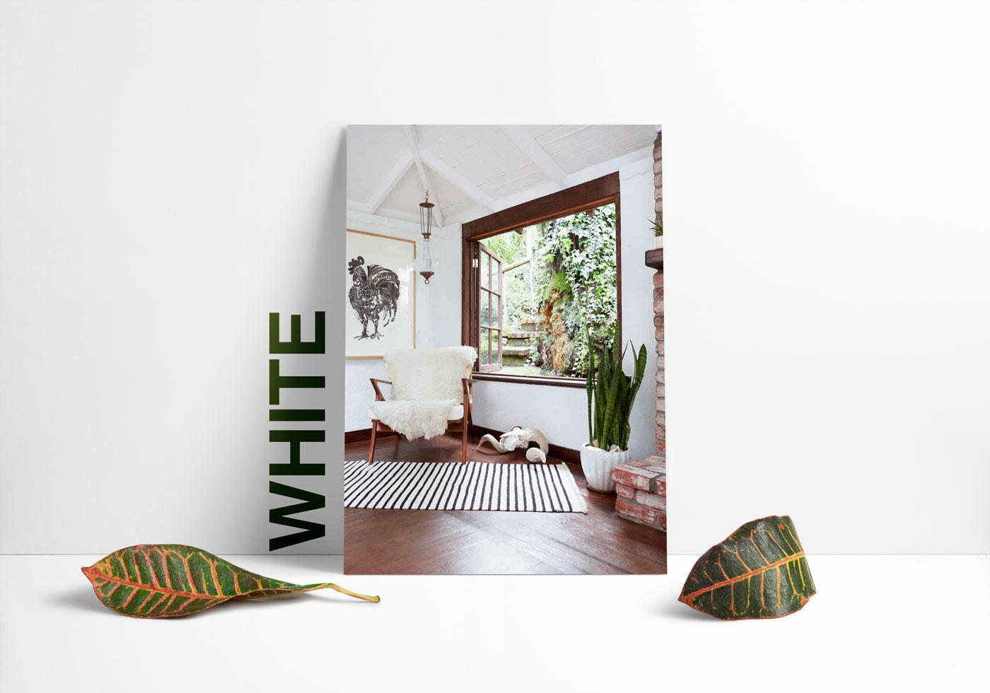 white in interior design - طبع یا مزاج رنگ ها در دکوراسیون داخلی