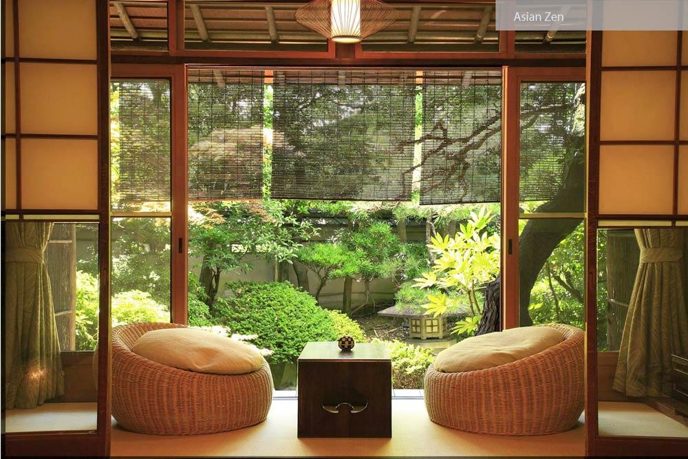 zen interior - ۲۷ سبک طراحی داخلی در سال ۲۰۱۹