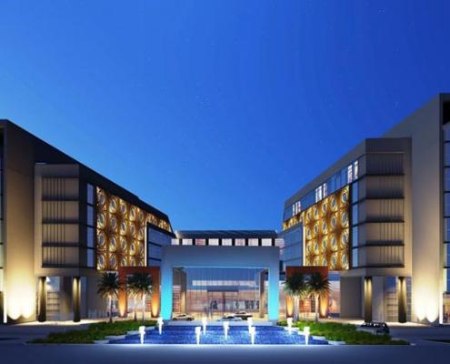 11a 495x400 - راه حل های طراحی نمای ساختمان تجاری
