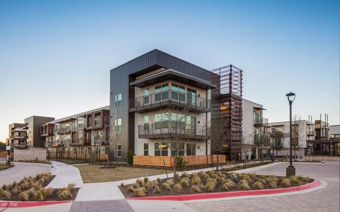4 2 - راه حل های طراحی نمای ساختمان تجاری