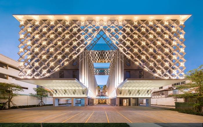 44a - راه حل های طراحی نمای ساختمان تجاری