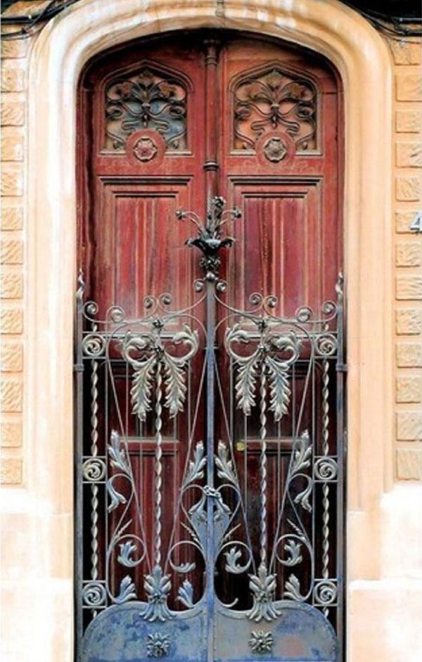 decorasion osul tarahi darb17 - اصول طراحی درب در دکوراسیون داخلی