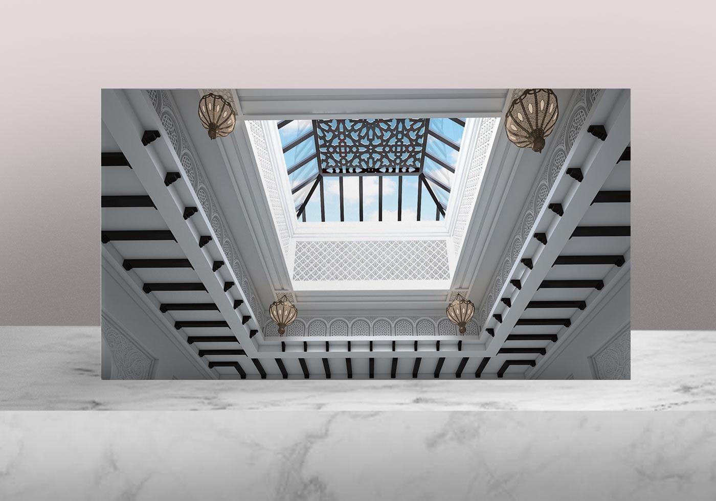 lighting interior design 2 - روش مختلف افزایش کاربرد نور خورشید در فضای داخلی