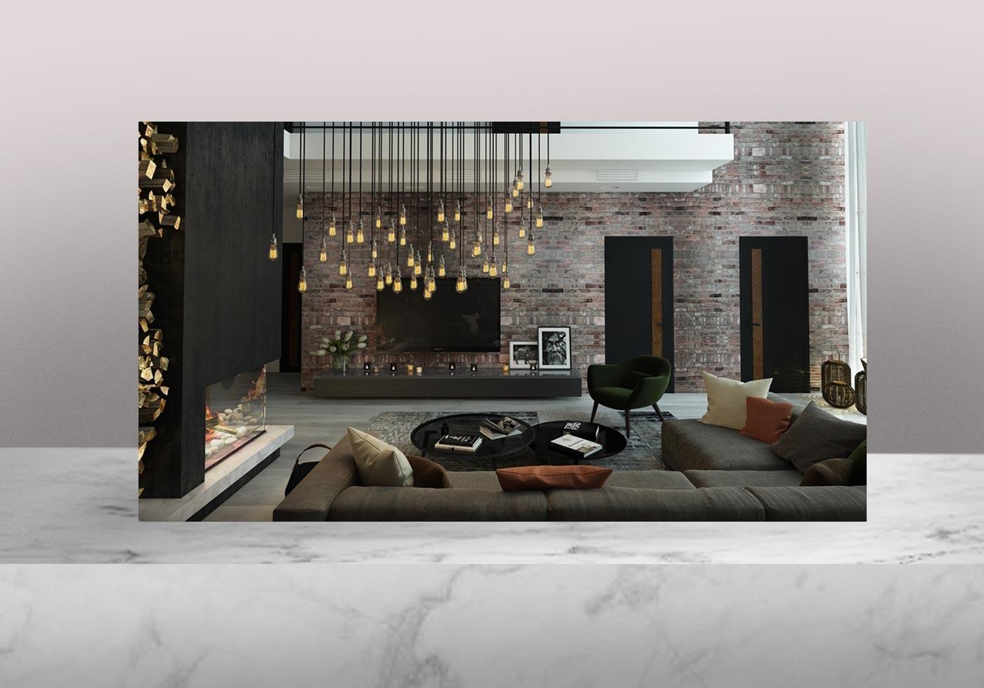 lighting interior design 5 - روش مختلف افزایش کاربرد نور خورشید در فضای داخلی