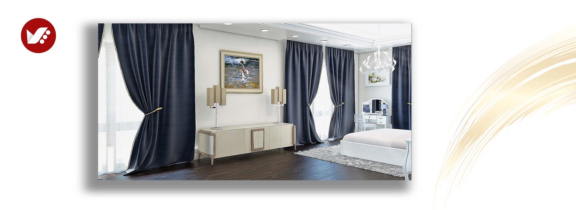 bedroom makeover curtains - تغییر دکوراسیون اتاق خواب