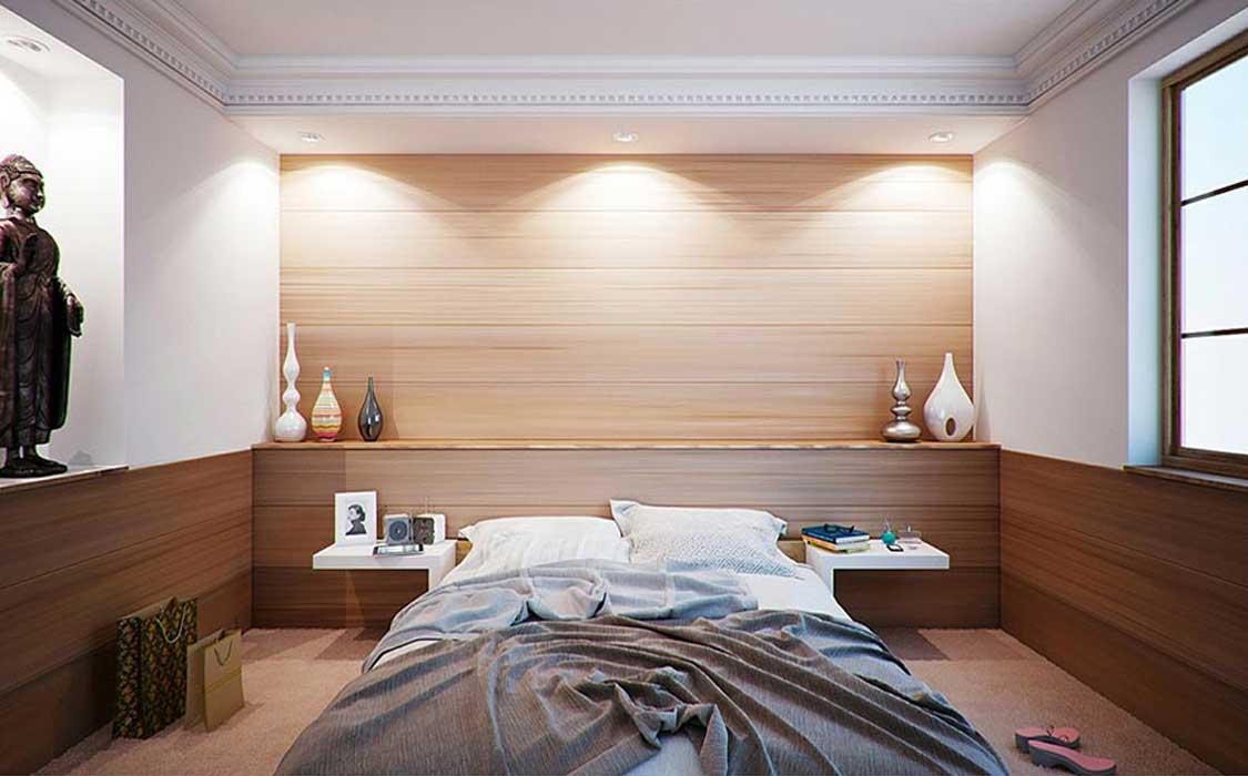bedroom makeover curtains11 - تغییر دکوراسیون اتاق خواب