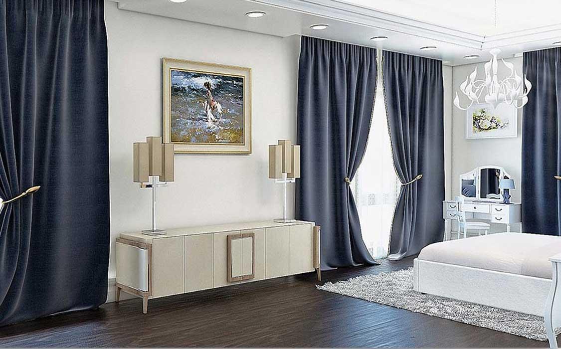 bedroom makeover curtains5 - تغییر دکوراسیون اتاق خواب