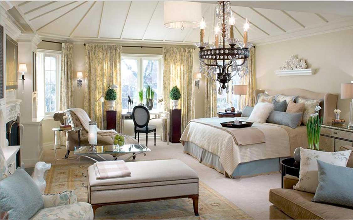 bedroom makeover curtains6 - تغییر دکوراسیون اتاق خواب