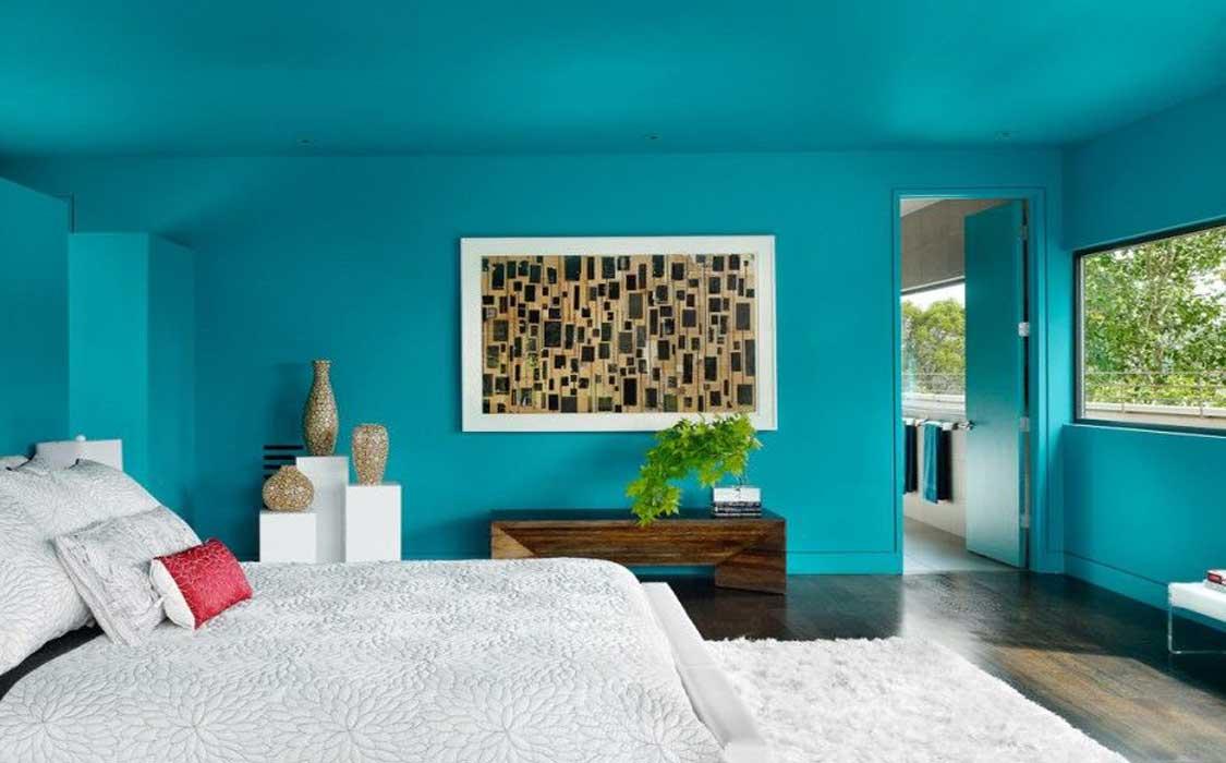 bedroom makeover curtains70pg - تغییر دکوراسیون اتاق خواب