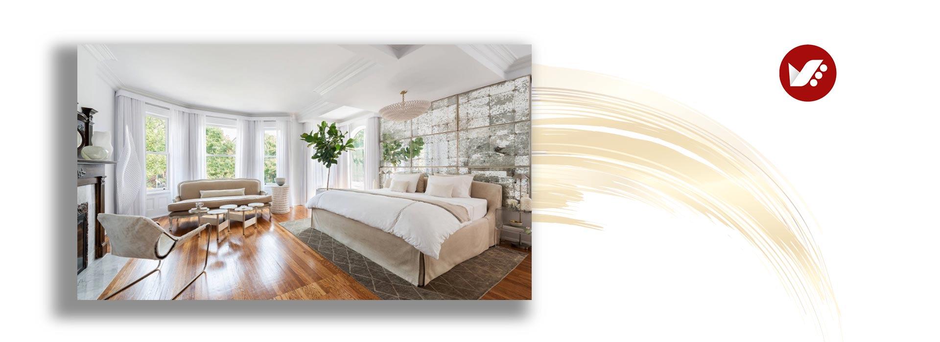 bedroom makeover taaodoljpg - تغییر دکوراسیون اتاق خواب