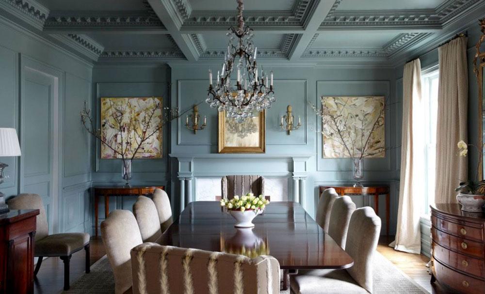 decorasion rang divar6 - مناسب ترین رنگ دیوار خانه کدام است ؟