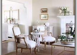 چند ایده اتاق نشیمن به سبک فرانسوی