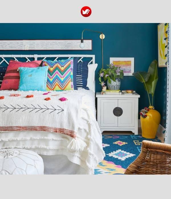 این 6 رنگ را هرگز در اتاق خواب خود نزنید